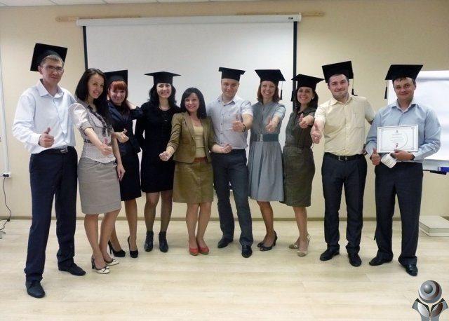 Выпускники школы тренеров Оксаны Грабар 2012