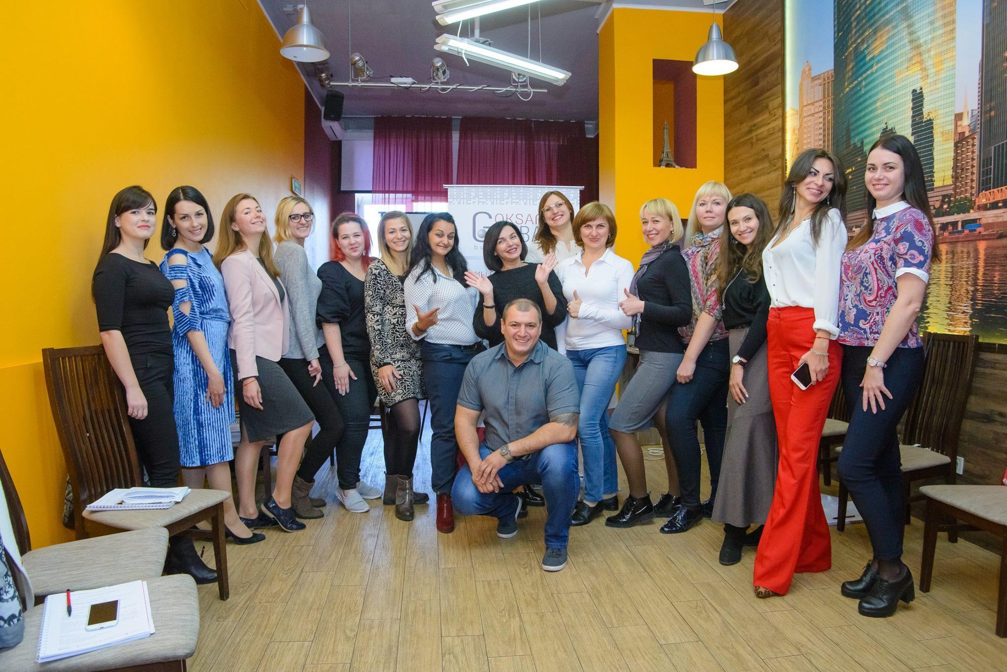 Выпускники школы тренеров Оксаны Грабар 2018